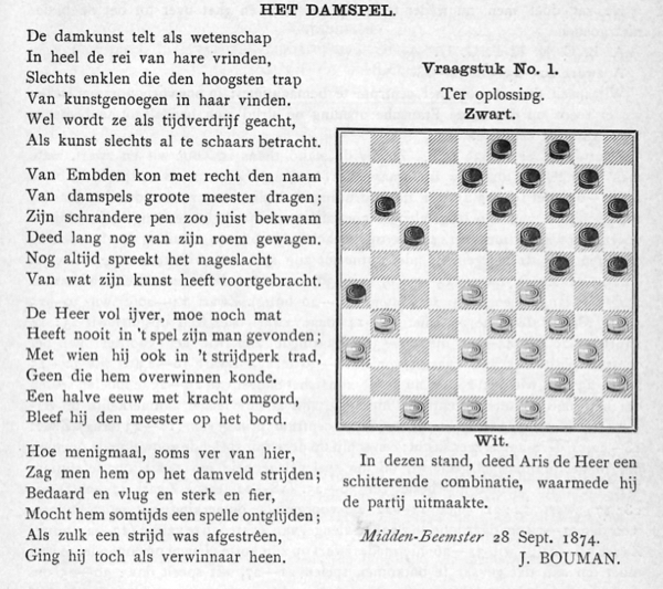 hekstelling damspel 1906